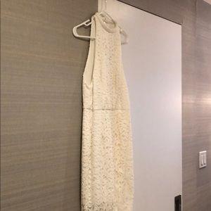 Nicholas lace halter dress